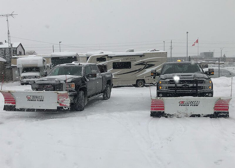 Snow Plowing Trucks